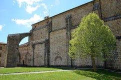 Spanish ancient monastery Royalty Free Stock Photography