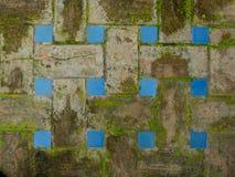 Ancient Paviment. Spanish Ancient Paviment with close up details Stock Photo