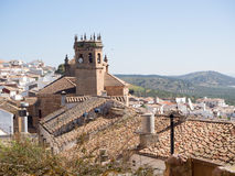 Spanish andalusian village Royalty Free Stock Images