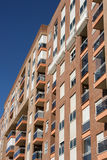 Spanish apartment building Royalty Free Stock Photography