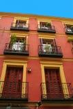 Spanish apartments Stock Photo