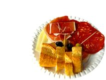 Spanish appetizer  Royalty Free Stock Images