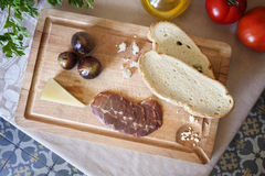 Spanish appetizer Stock Image