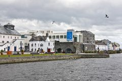 Spanish Arch, home of Galway City Museum, near River Corrib, Galway City, County Galway. The Spanish Arch Irish: An Póirse and the Caoċ Arch Irish: An Póirse Royalty Free Stock Photo