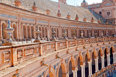 Spanish architecture detail Royalty Free Stock Photo