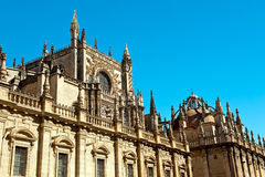 Spanish architecture Royalty Free Stock Photo