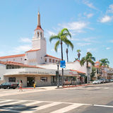 Spanish architecture of Santa Barbara Stock Photography