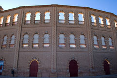 Spanish arena - Architecture detail Royalty Free Stock Images