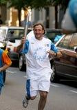 Spanish athlete Fermin Cacho Royalty Free Stock Images