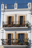 Spanish balcony Stock Images