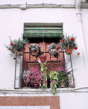 A spanish balcony Stock Photography