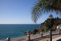Spanish Balcony. Balcony overlooking the costa del sol stock image