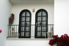 Spanish balcony Royalty Free Stock Image