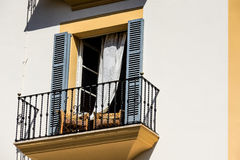 Spanish balcony during siesta Stock Photography