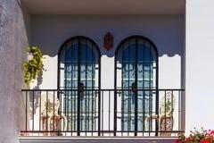 Spanish balcony Stock Photos