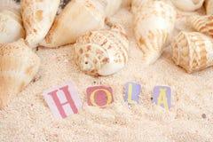 Spanish beach Royalty Free Stock Photography