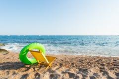 Spanish beach. Landscape empty Spanish Costa Brava Royalty Free Stock Image