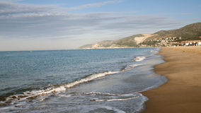 Spanish beach Royalty Free Stock Photo