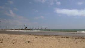 Spanish beaches in Catalonia.