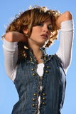 Spanish beauty stock images