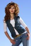 Spanish beauty royalty free stock photos