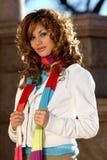 Spanish beauty stock photo