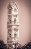 Spanish bell tower, Mexico Royalty Free Stock Image