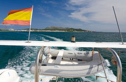 Spanish boat trips Stock Photo