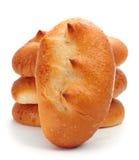 Spanish bollos suizos, brioches with sugar Stock Photo