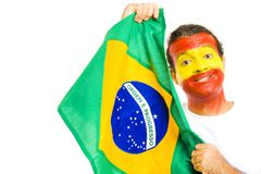 Spanish Brazilian royalty free stock photo