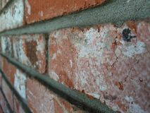 Spanish Brick Wall Royalty Free Stock Image