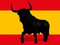 Spanish bull Stock Photo