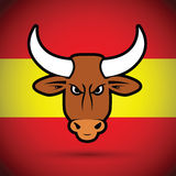 Spanish bull Stock Images