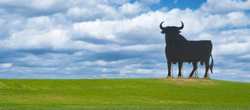 Spanish bull sign Stock Images