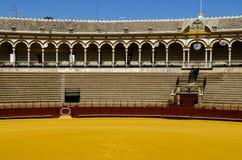 Spanish bullfight arena Sevilla Royalty Free Stock Photos