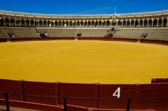 Spanish bullfight arena Sevilla Stock Photography