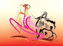 The Spanish bullfighter Stock Photo