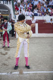 The Spanish Bullfighter Curro Diaz initiating the paseíllo in t Stock Image