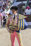 The Spanish Bullfighter Curro Diaz initiating the paseíllo in t Stock Photo