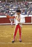 The spanish bullfighter Enrique Ponce at the paseillo or initial parade Stock Photos