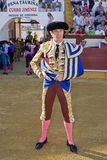 The spanish bullfighter Jose Luis Moreno at the paseillo or initial parade Royalty Free Stock Photo