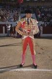 The spanish bullfighter Jose Maria Manzanares at the paseillo or initial parade Stock Photography