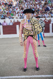 The Spanish Bullfighter Jose Tomas initiating the paseíllo in t Royalty Free Stock Images