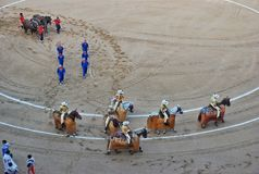 Spanish bullfighting royalty free stock images