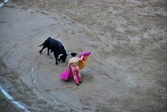 Spanish bullfighting Stock Photo