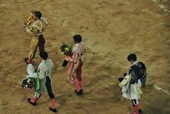 Spanish bullfighting Royalty Free Stock Photo