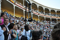 Spanish bullfighting festival Royalty Free Stock Photo