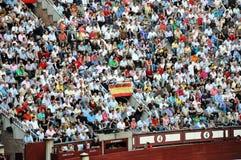Spanish bullfighting festival Stock Photos