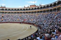 Spanish bullfighting festival Stock Images