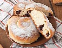 Spanish buns Ensaimadas Stock Image